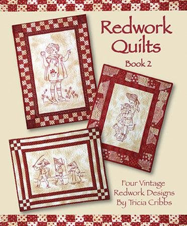BK- Redwork Quilts Book 2