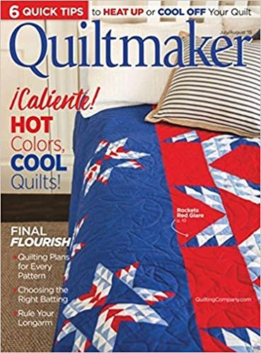 MZ- Quiltmaker Magazine July/August 2019