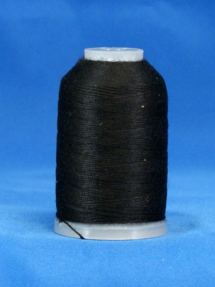 TH- YLI Soft Touch Thread Black 1000 yards