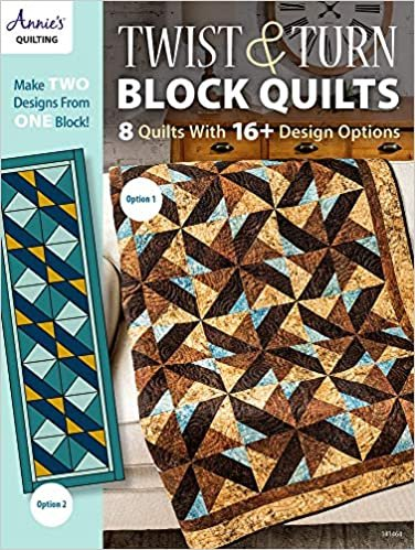 BK- Twist and Turn Block Quilts