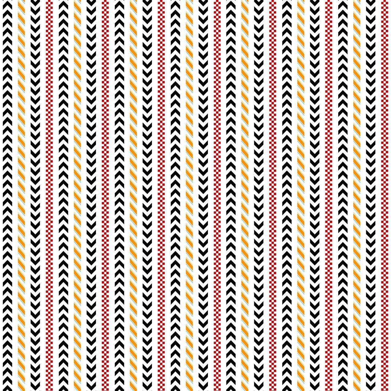 WILM- Race Day Stripe White