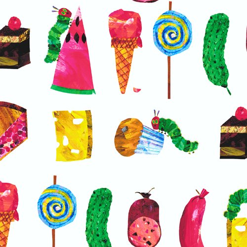 AND- Very Hungry Caterpillar Encore Rows of Foods