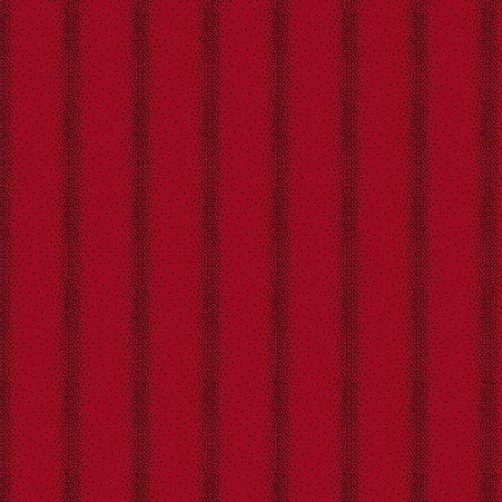 AND- Holly Berry Stripe Red