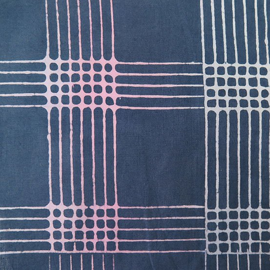 AND- Chroma Batik Charcoal Plaid