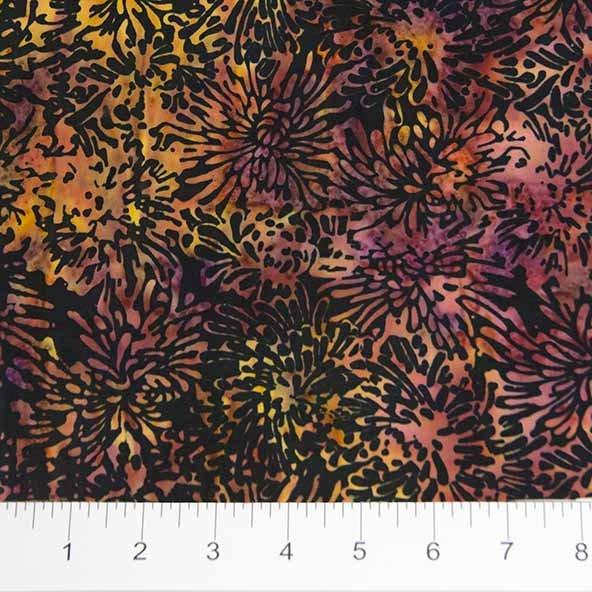 BB- Shattered Garden Orange & Rose Chrysanthemums