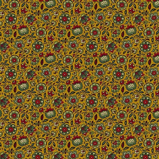 AND- Holly Berry Gold Packed Floral