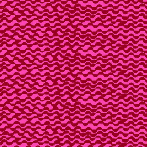 BLANK- Points of Hue Wavy Lines Red