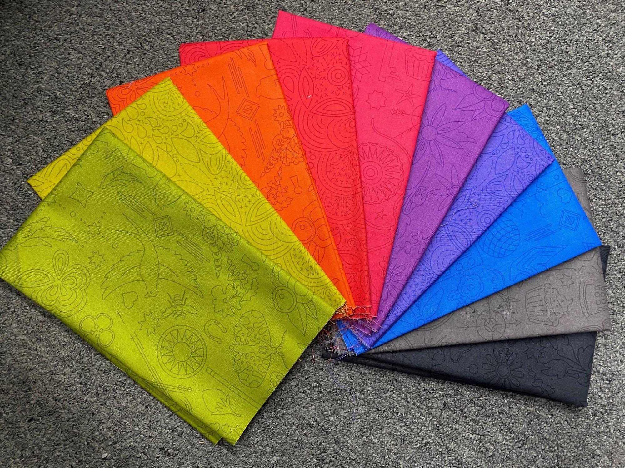 Rainbow AG 10 Half Yard Bundle