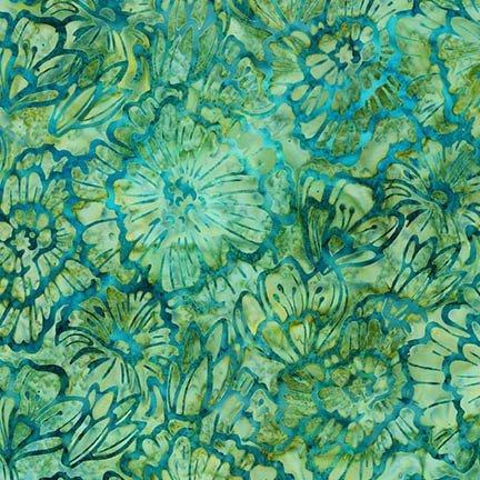 KAUF- Terrace 3 Meadow Pale Green Floral