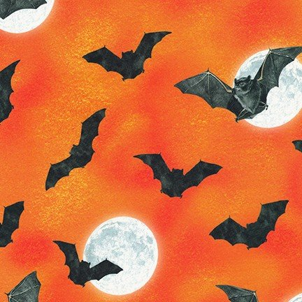 KAUF- Raven Moon Bats Orange