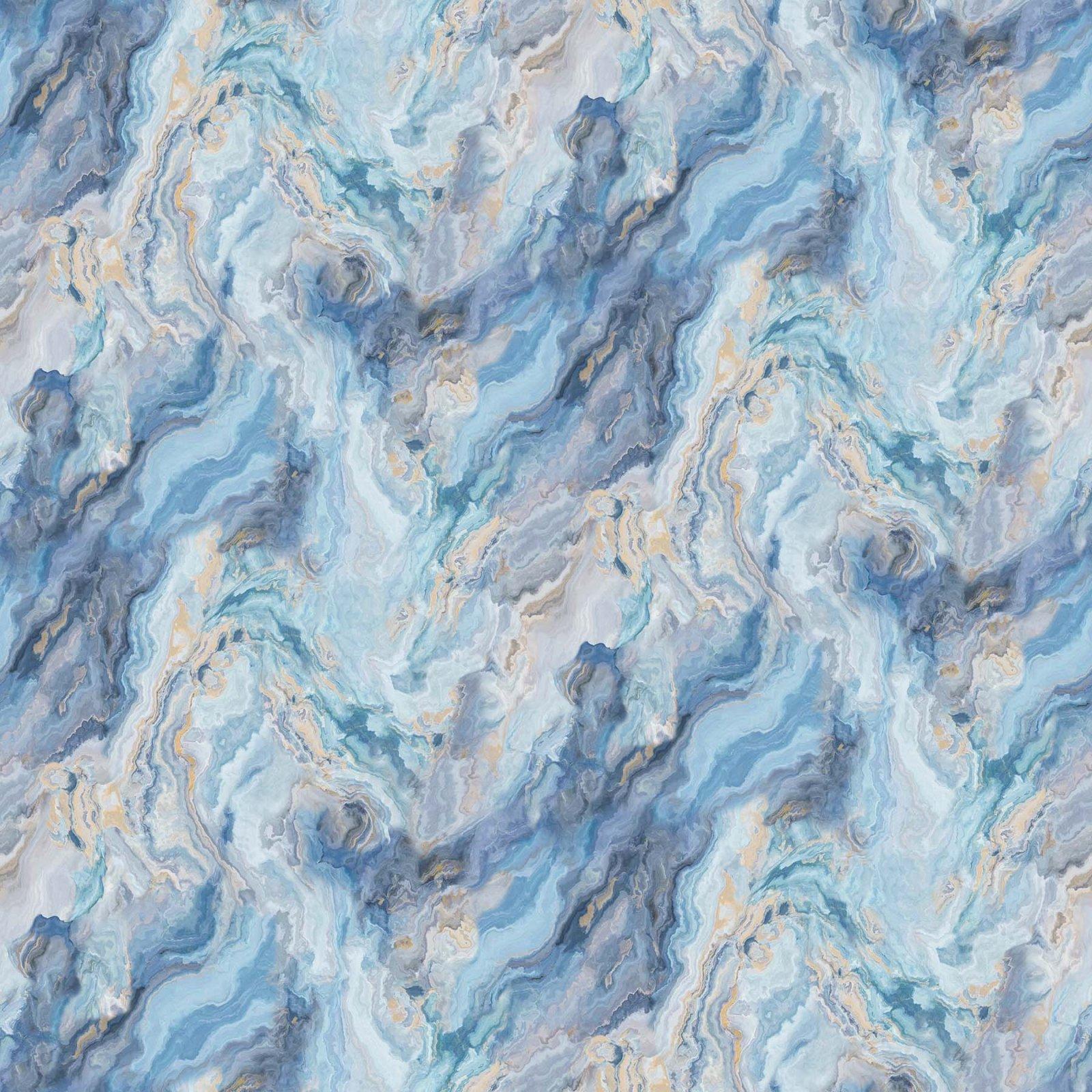 NORTH- Swept Away Blue Marble 108 Wideback