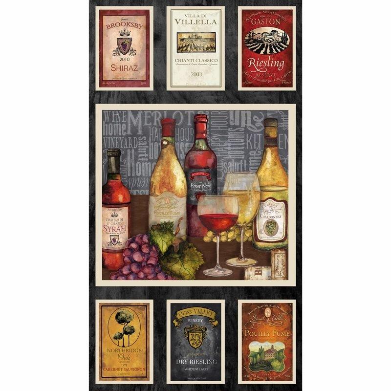 PANEL- Vintage Wine