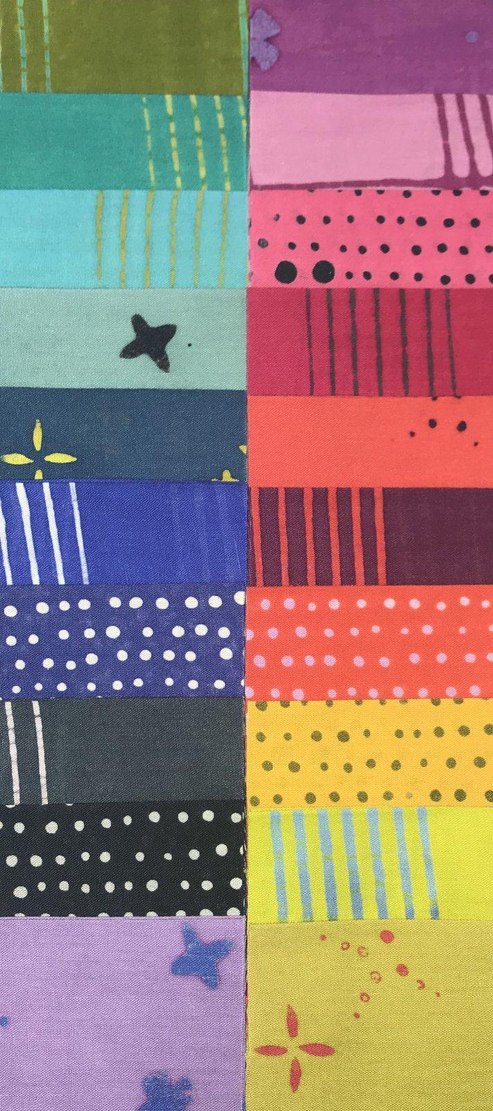 Chroma Batiks 2 1/2 Strips
