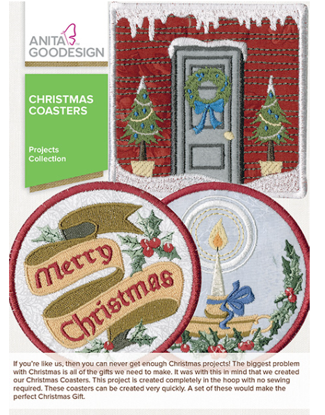 AG- Christmas Coasters