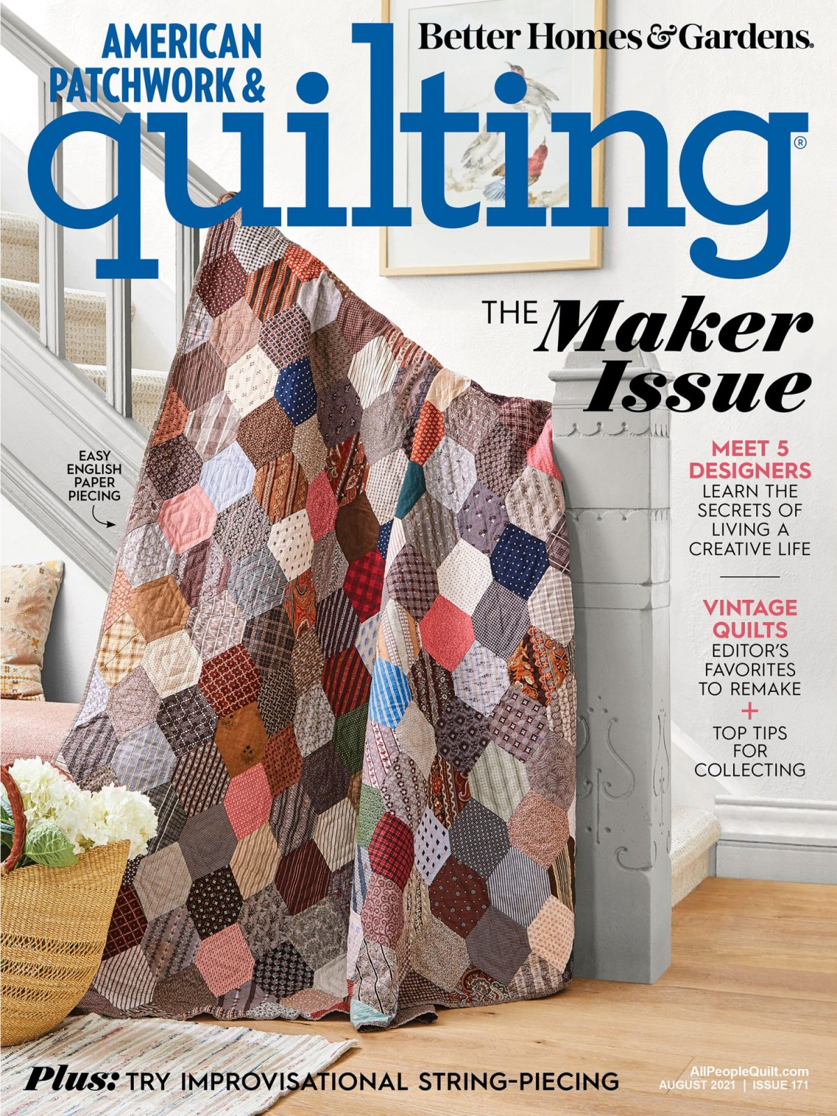 MZ- American Patchwork & Quilting August 2021