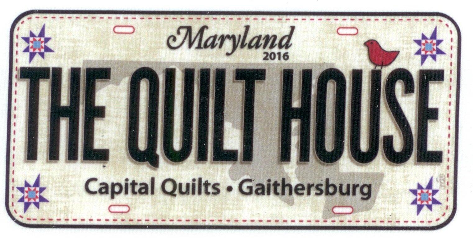 N- 2016 Quilt House Custom Plate