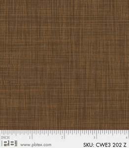 PandB- Color Weave Brown CWE3 202 Z