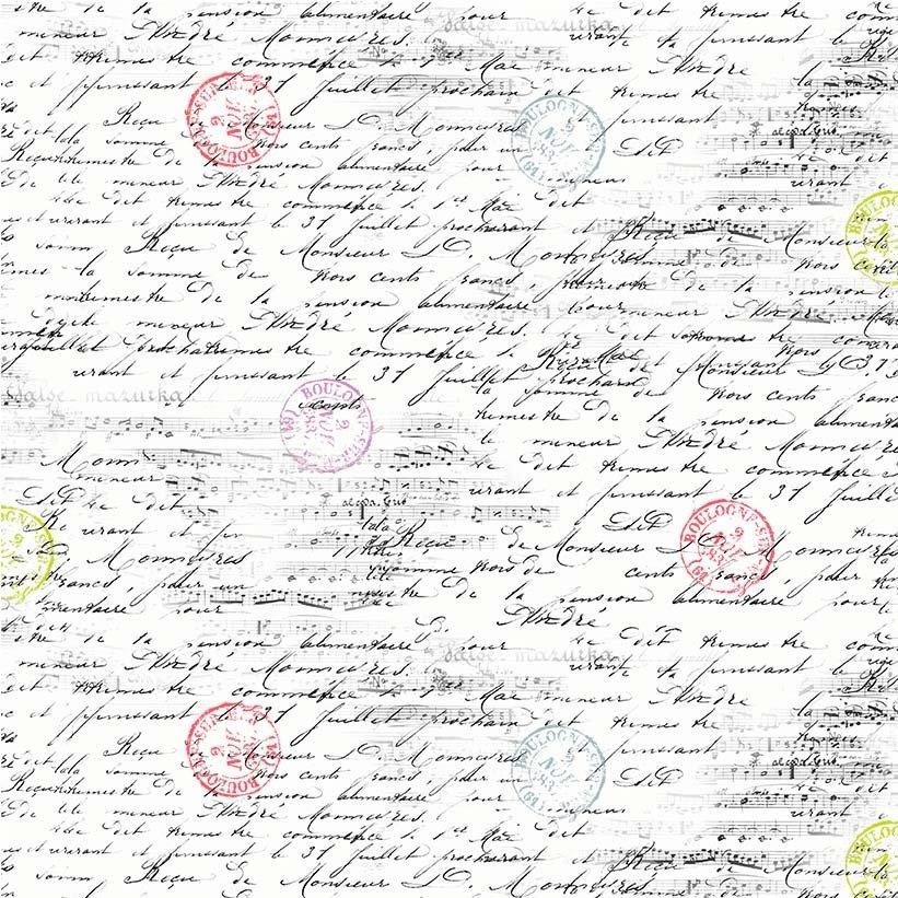 MM- La Parisienne White Travel Notes
