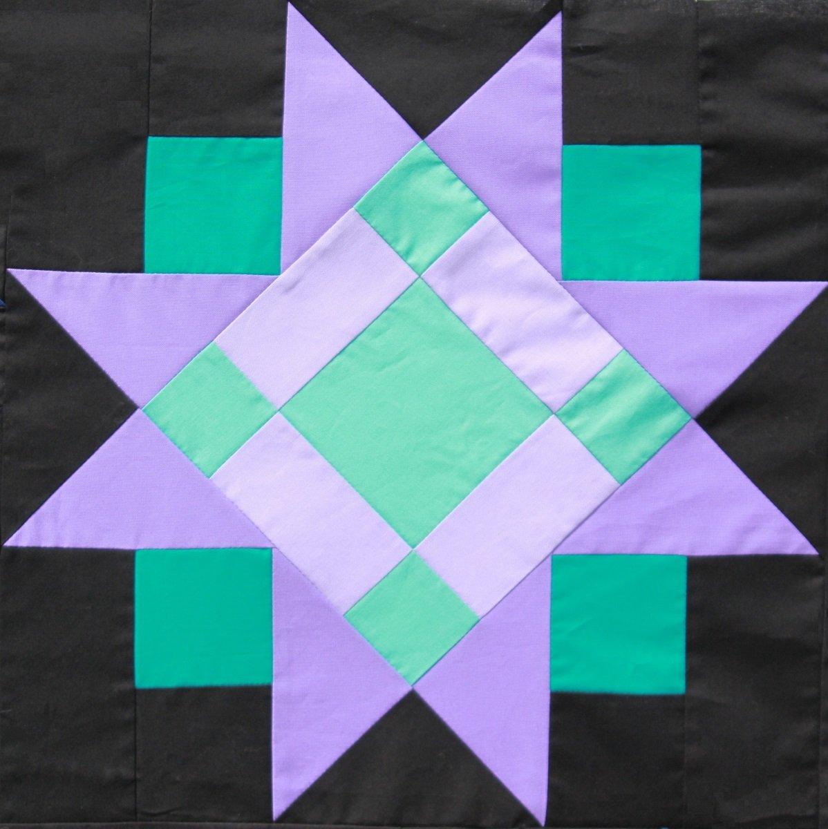 PT- Diamond Star Pattern Card