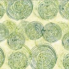 HOFF- Parsley Green Spirals