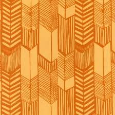 HOFF- Feathered Arrows Sunflower Batik