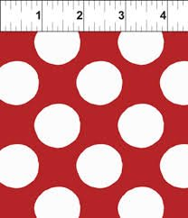 ITB- SEARCH AND SEE LARGE DOTS RED