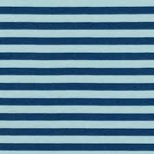 Kauf- Blake Cotton Jersey Knit Fog blue/light blue stripe