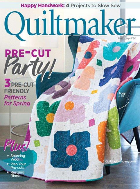 MZ- Quiltmaker Magazine March/April 2020