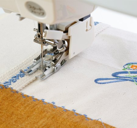 JAN- Even Feed Foot With Quilting Guide
