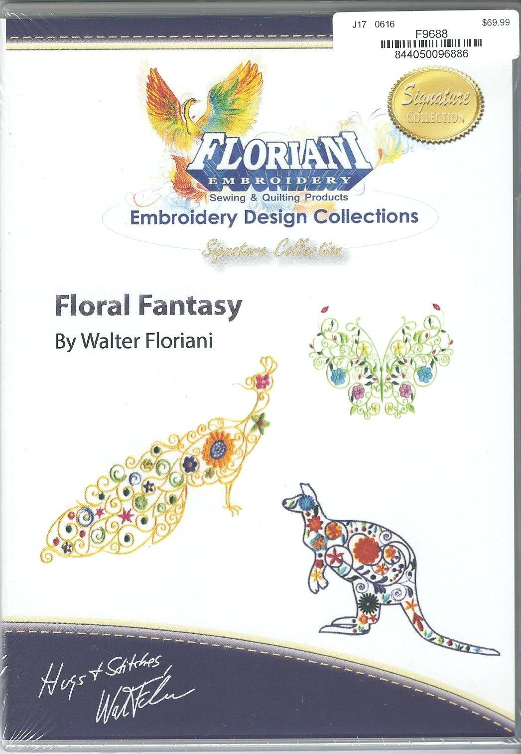 RNK- Floral Fantasy Embroidery Design Collection