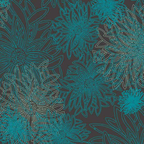 AGF- Floral Elements Deep Ocean