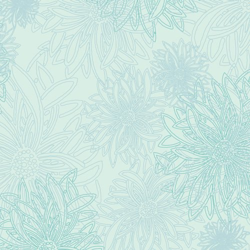 AGF- Floral Elements Icy Blue