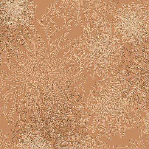 AGF- Floral Elements Mocha