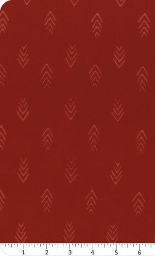 HOFF- Hand Dyed Batiks Herringbone Rose