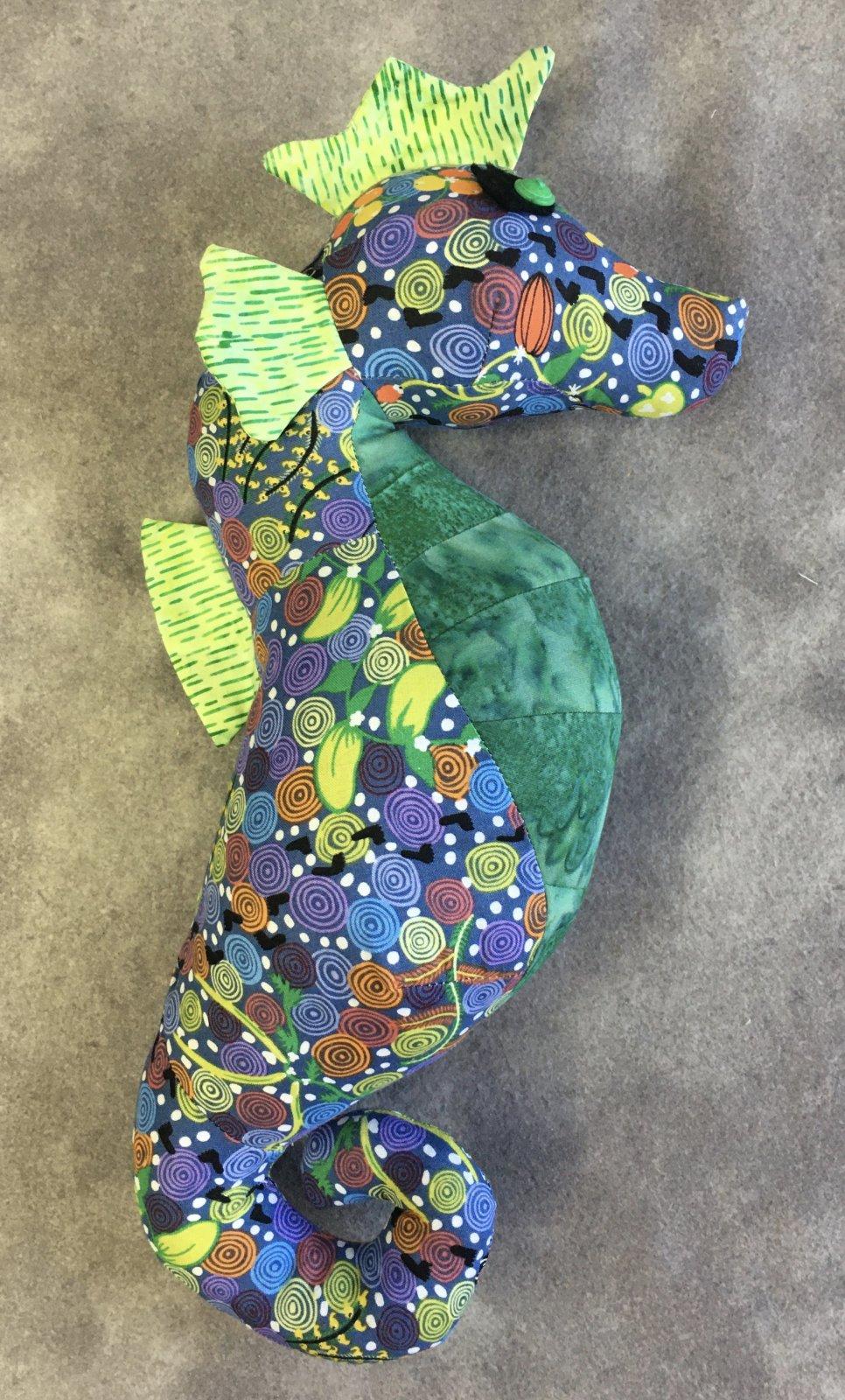 MODEL- Sparkles Seahorse