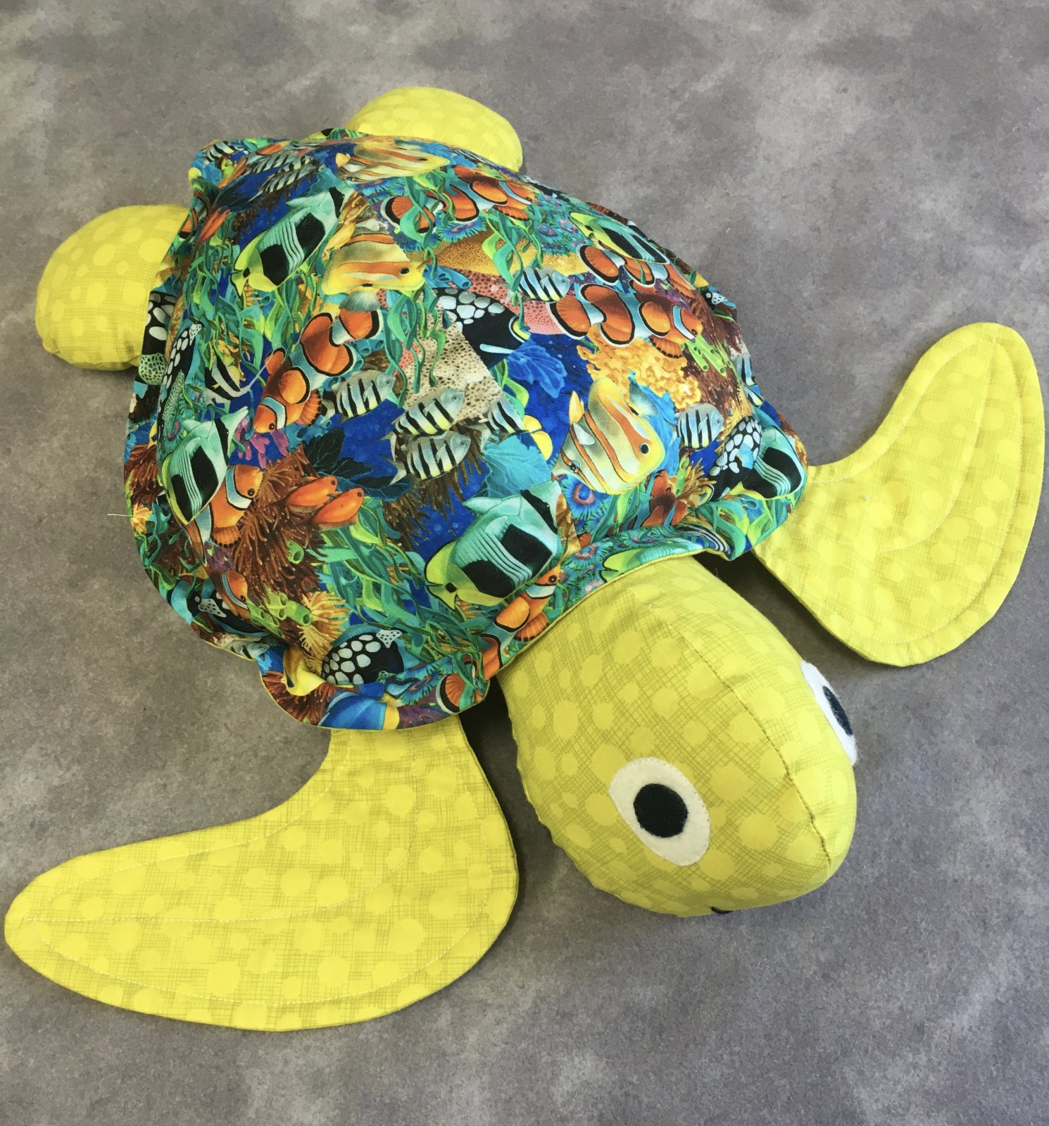 MODEL- Sea Turtle Softie