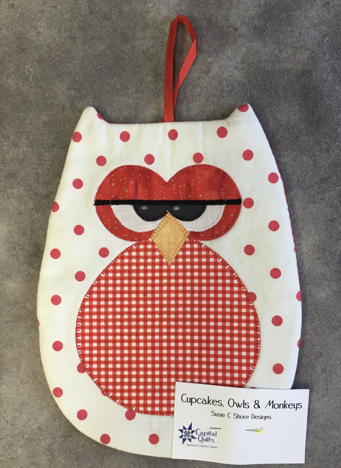 MODEL- Owl Potholder