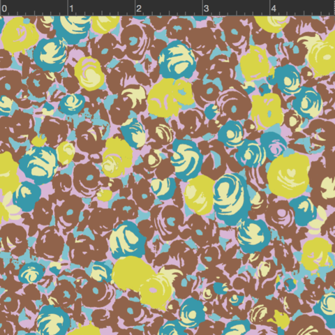 MARCUS- Futurum Brown And Green Floral