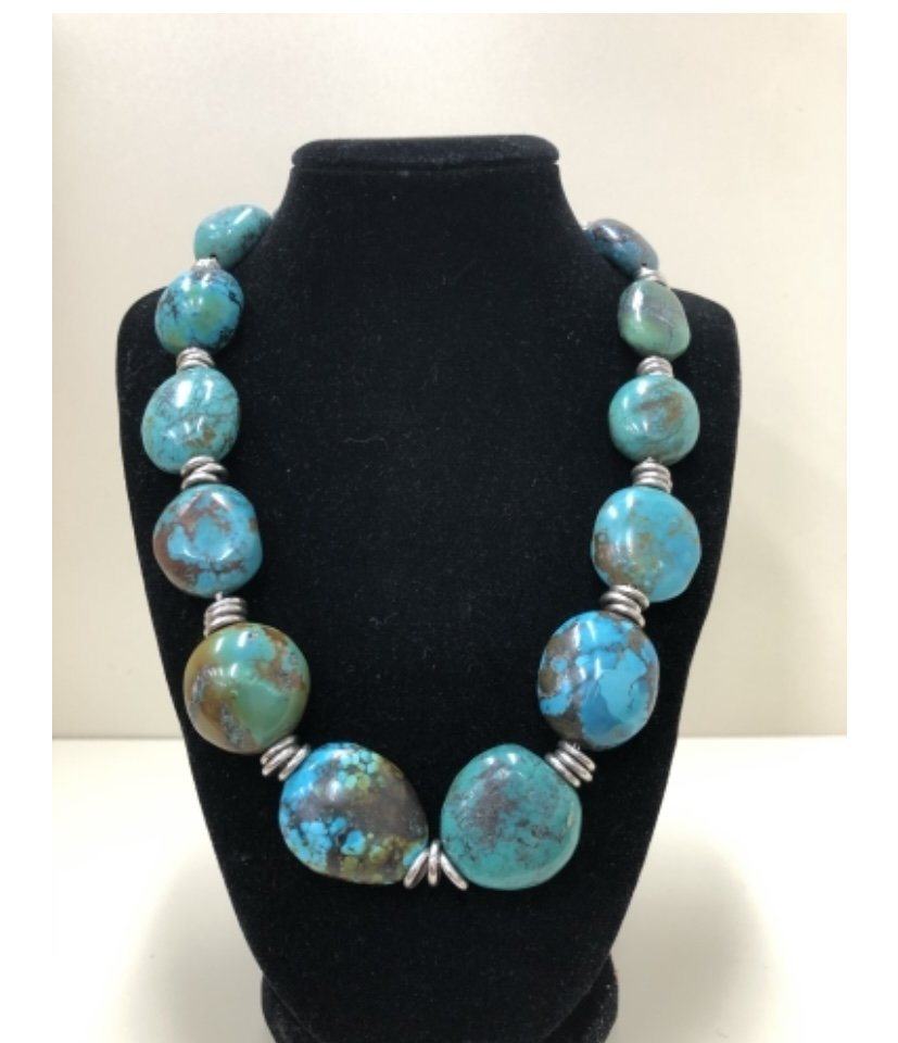 JEWEL- Turquoise Necklace