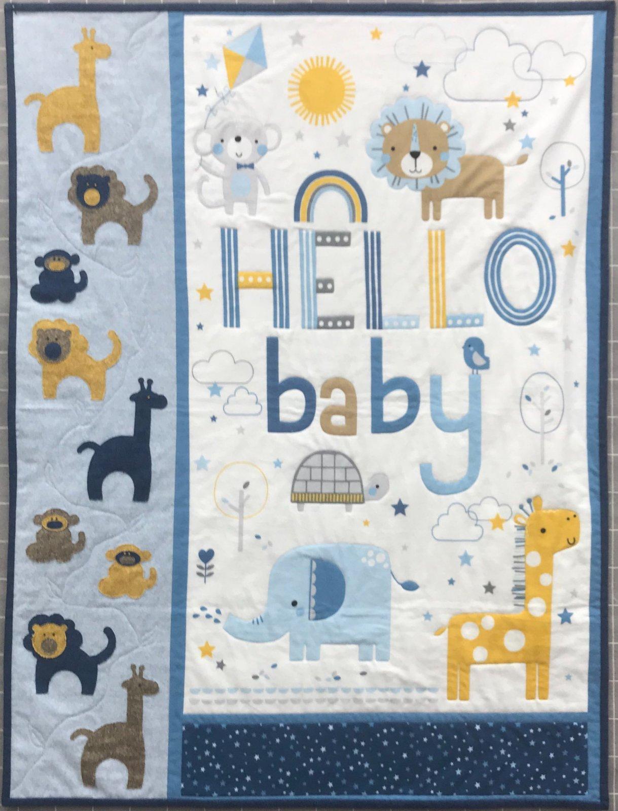 KIT- Hello Baby Flannel