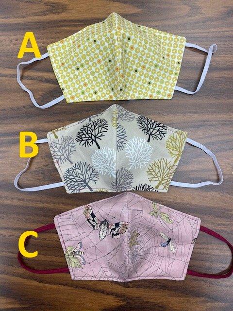 Large Handmade Fabric Masks Batch I