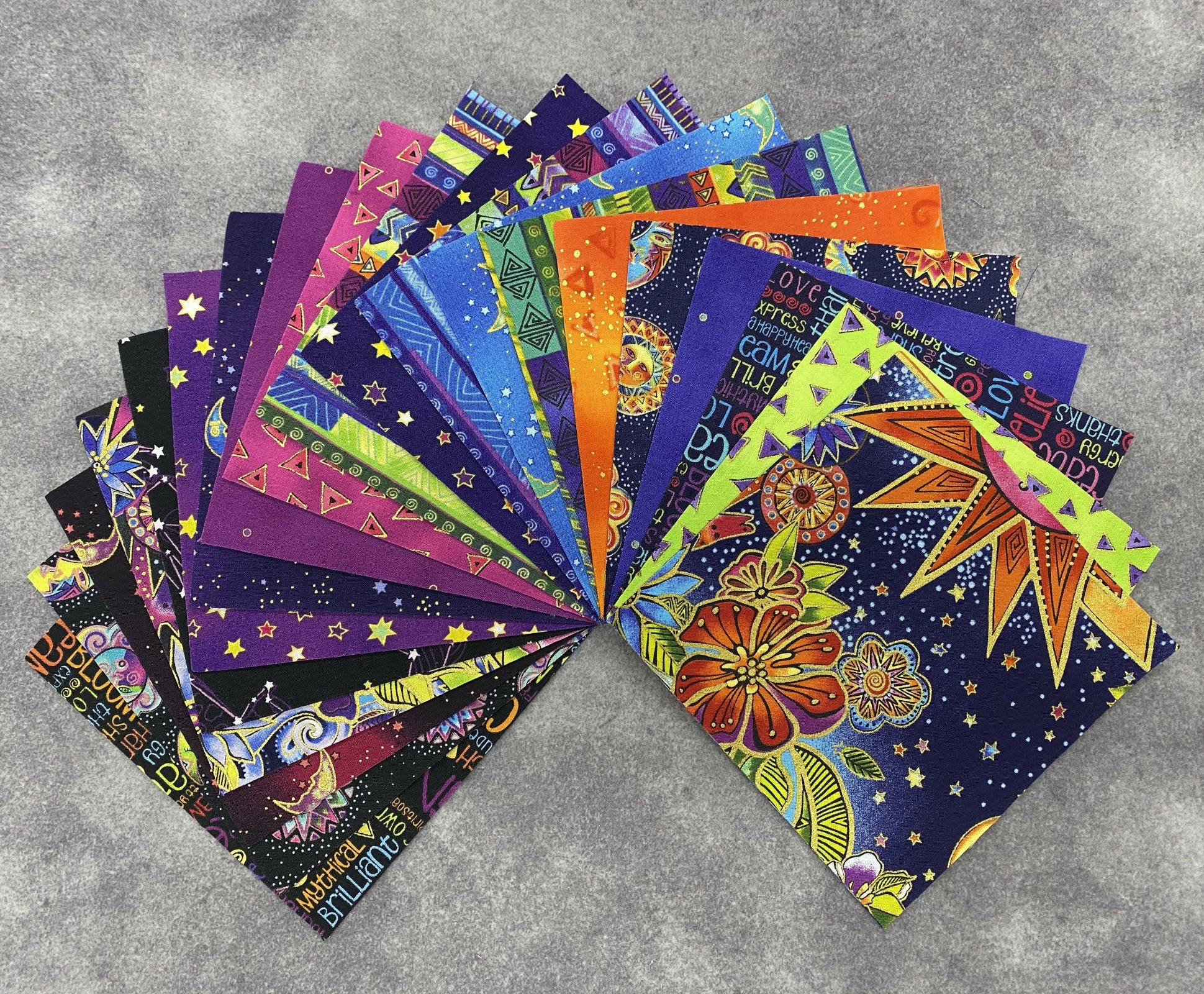 Celestial Magic 5 Charm Squares