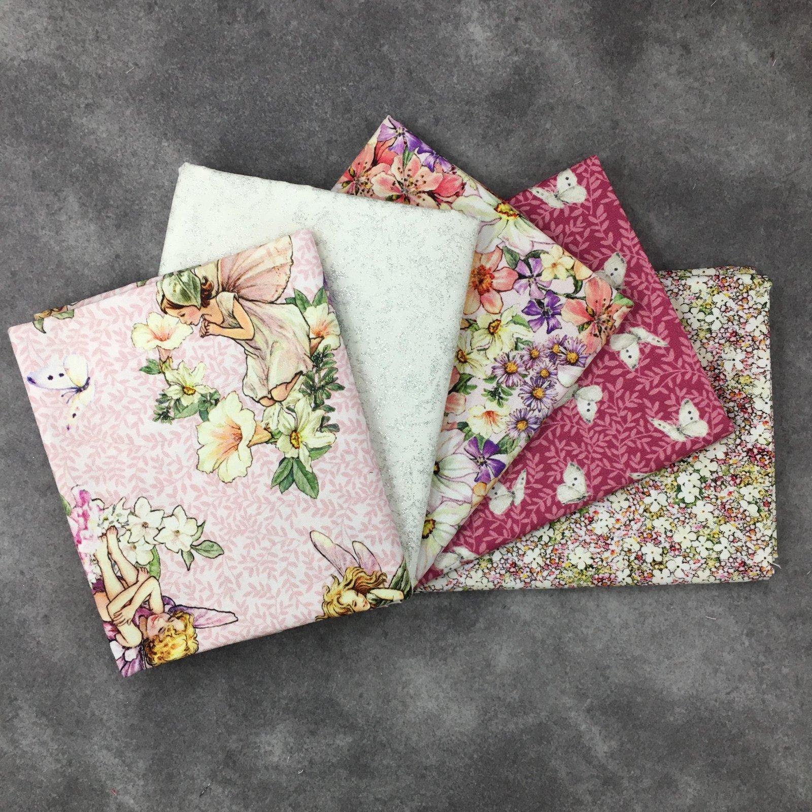 Dancing Flower Fairies 5 FQ Bundle