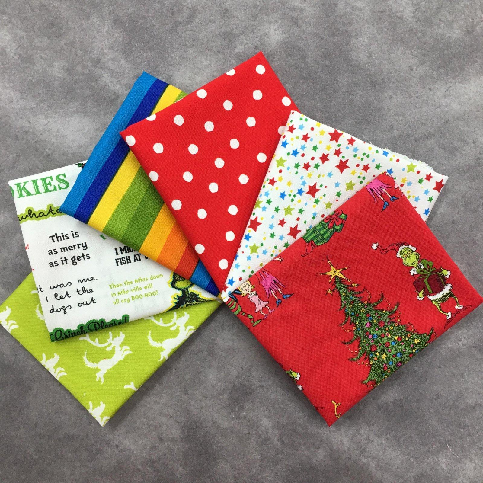 How the Grinch Stole Christmas 6 FQ Bundle