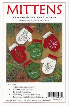 Kit- Mittens Ornament Kit