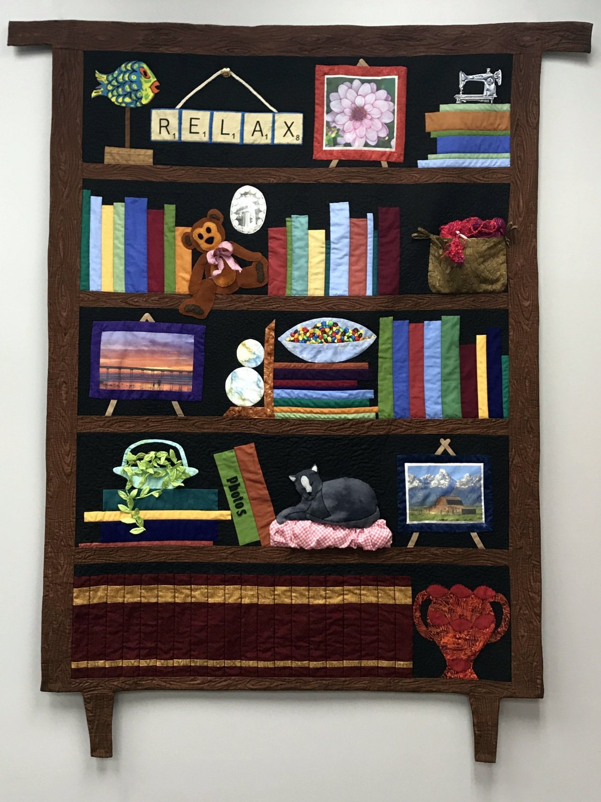 Bookcase Quilt Pattern Amazing Design