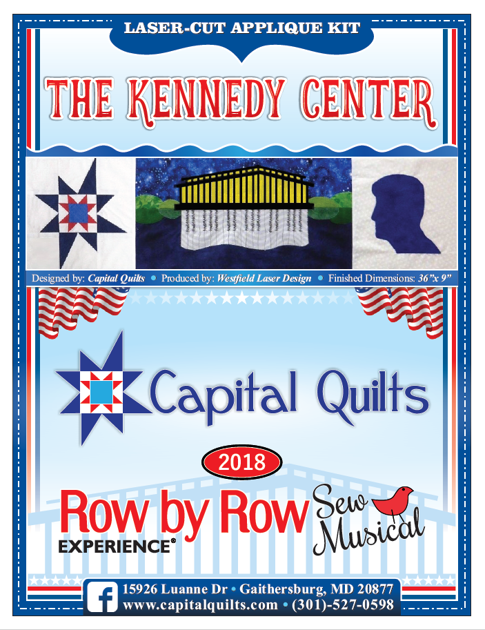 KIT- The Kennedy Center 2018 Row by Row