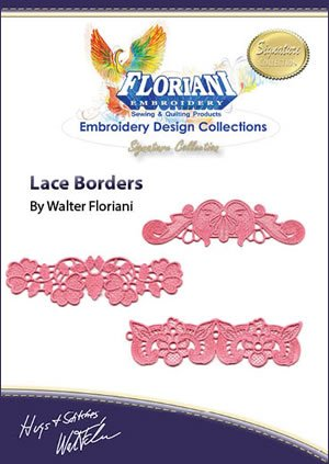 RNK- Lace Borders Embroidery Design Collection