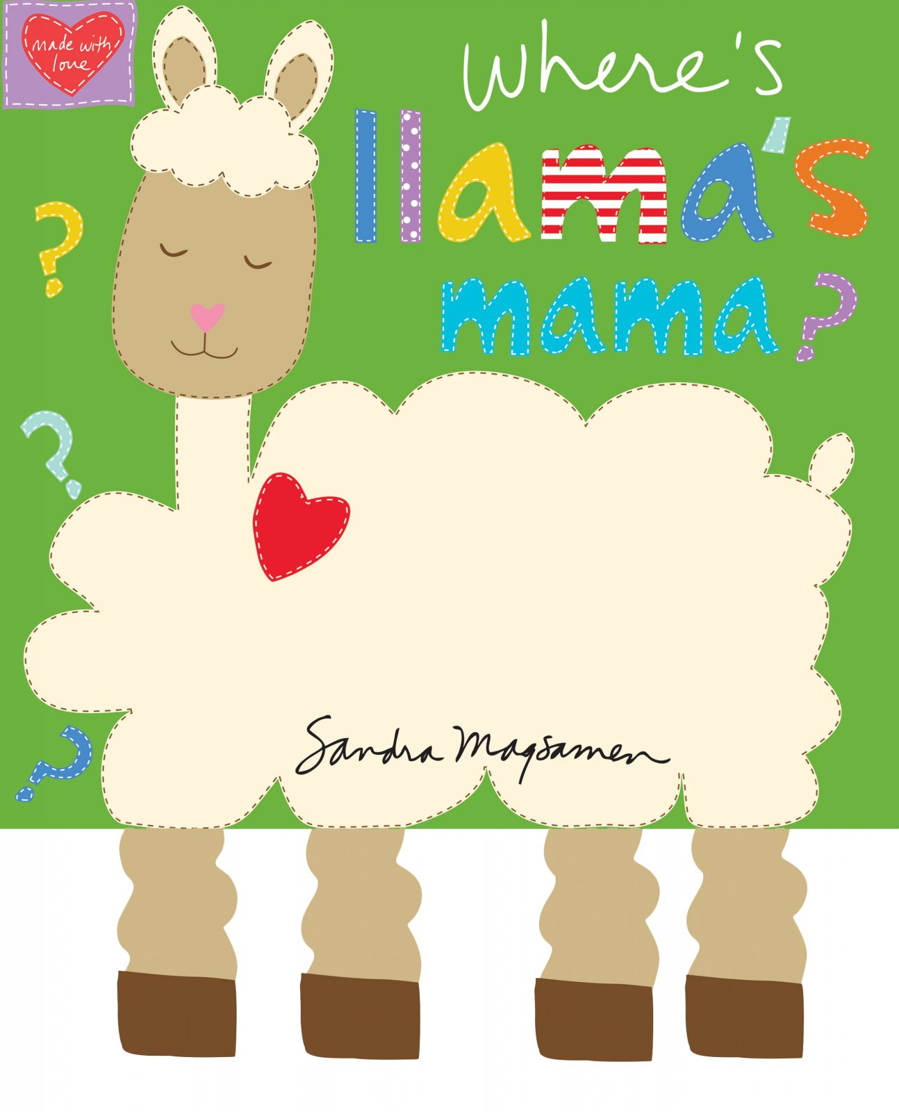 PANEL- Huggable & Loveable 6 Llama Mama Book