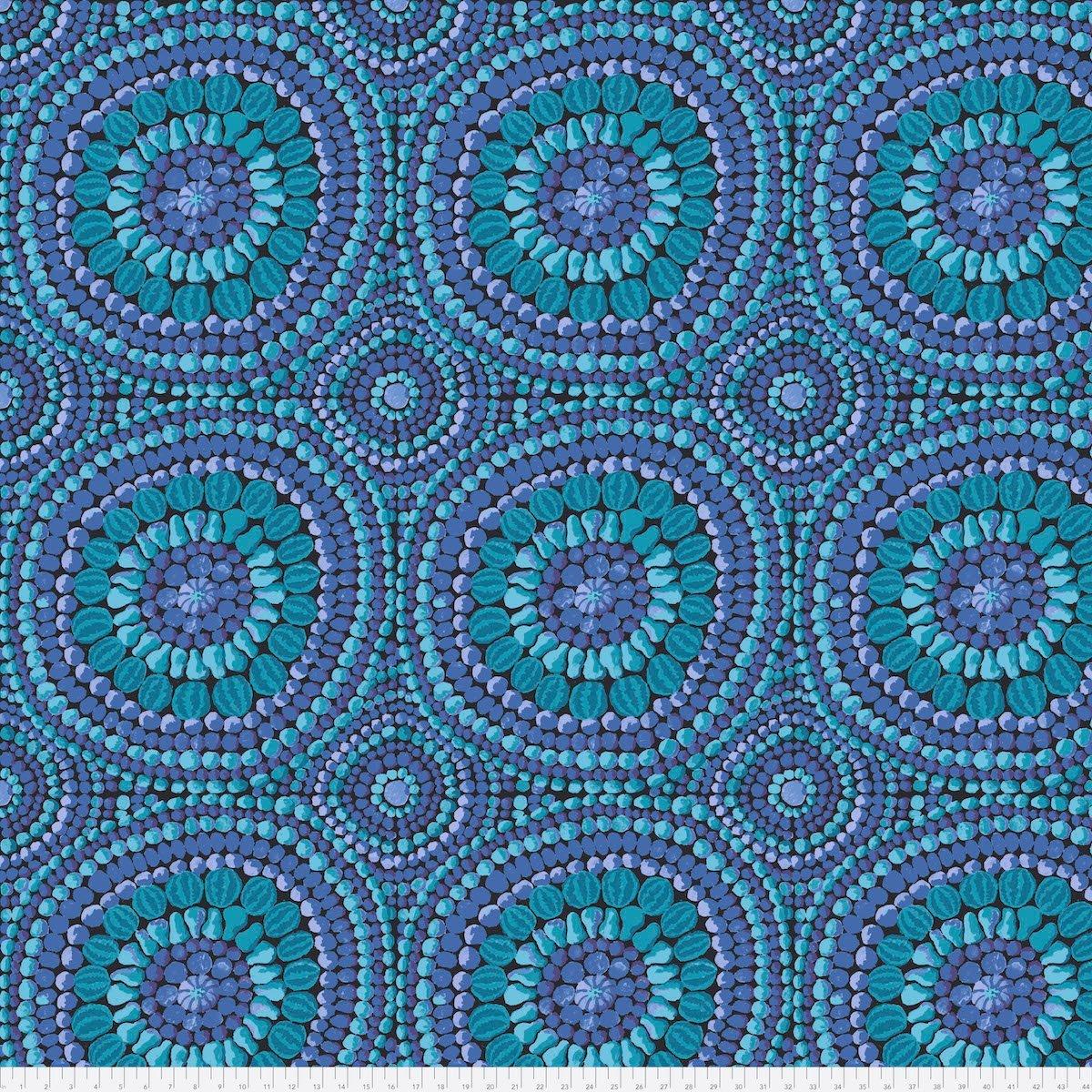 FREES- 108 Mandala Blue